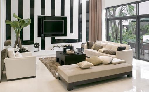 背景墙#客厅电视背景墙效果图