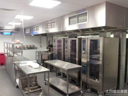 酒店餐厅厨房装修成本,酒店厨房装修图片,酒店厨房装修设计图