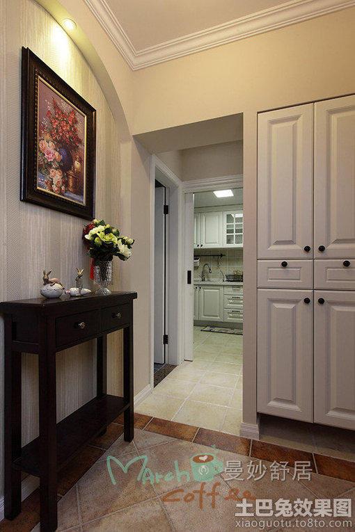 简美式90平米两室两厅装修效果图 图片 hao1