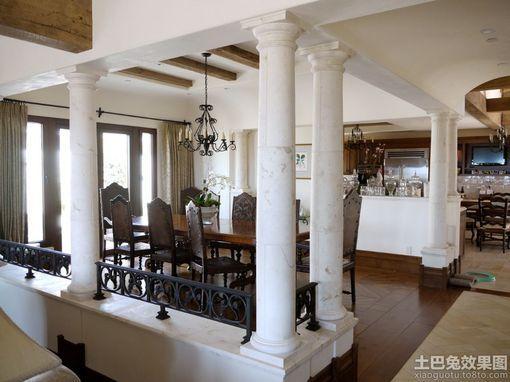 客厅方柱子装饰效果图图片 方柱子装饰造型图,客厅方柱子装