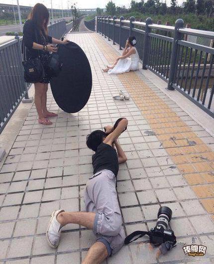 摄影师不是那么好当的