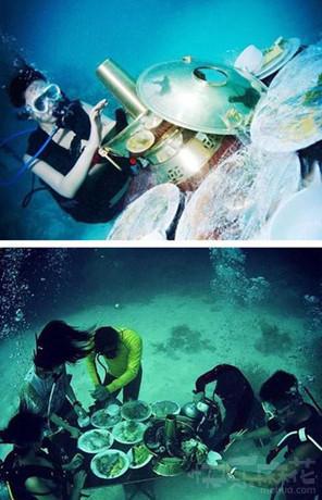 这难道就是传说中的海底捞吗?